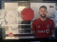 2020 Topps MLS Soccer JONATHAN OSORIO Jersey Relic 200/319 Toronto FC