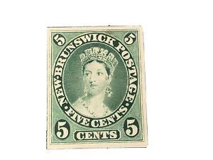 # 8 A PROOF NEW BRUNSWICK MINT ON CARD
