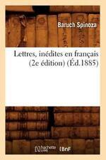 Lettres, Inedites En Francais (2e Edition) (Ed.1885) (Paperback or Softback)