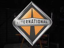 International Truck Lighted Sign
