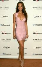 RIHANNA BABY PINK BODYCON BANDAGE PARTY COCKTAIL WEDDING DRESS SIZE XS S M L