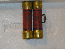 (LOT OF 2)Eagle 50A 250v one time fuse