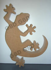 Gecko shape in MDF (205mm x 18mm thick)/Tropical/Wooden craft
