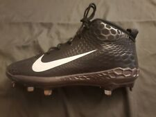 Nike Force Zoom Trout 5 V Pro Mid Metal Baseball Cleats Black Size 11