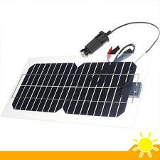 Solar Panel Universal 5.5W 18V Semi-Flexible Transparent Monocrystalline Silicon