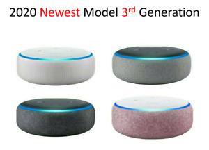 Amazon Echo Dot 3rd Generation Alexa Voice Media Device Charcoal Heather Grey