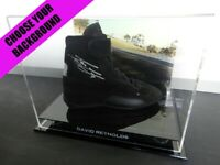 ✺Signed✺ DAVID REYNOLDS Racing Shoe PROOF COA V8 Supercars Holden Commodore