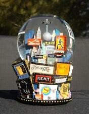 Bloomingdales Broadway Cares Times Square Twin Towers New York Snow Globe 2001