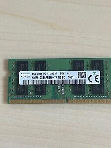 Hynix 8GB 1x 8GB DDR4 2133MHz PC4-HMA41GS6AFR8N - Laptop RAM Memory