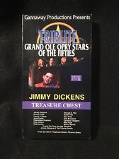 Grand Ole Opry Stars Of The Fifties 7 / Jimmy Dickens Treasure Chest VHS Country