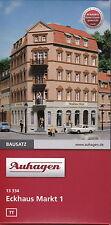 Auhagen 13334 - Spur TT - Eckhaus Markt 1 - Winkel 105° , 90° und 75° baubar