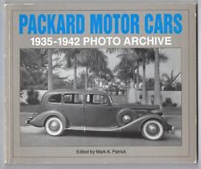 Packard Motor Cars - 1935-1942 Photo Archive - Book - Patrick 1996
