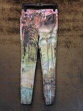 Tribal Beverly Hills California Printed Jeans Size 2 Skinny SALE$49.99
