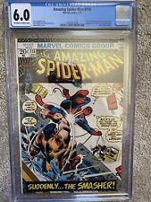 Amazing Spider-Man #116 CGC Jon Romita adapted From Stan Lee Story