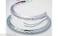 ADD ON 45-8134ARBLED TRI-COLOR ROTOR COVER LIGHT RINGS GL1500 GOLDWING 1988-2000