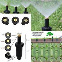 90-360° Sprinklers Lawn Watering Sprinkler Head Adjustable Gardening Irrigation