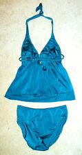Venus Dark Turquoise Two-Piece Halter Swimsuit-10*
