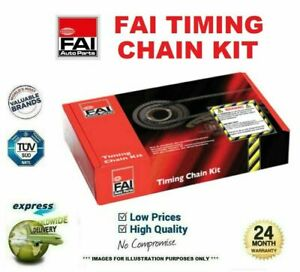 FAI TIMING CHAIN KIT for RENAULT MEGANE III Grandtour 1.4 TCe 2009->on