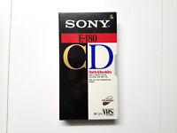 Sony CD E-180 VHS, Video-Kassetten Cassette, Neu & OVP