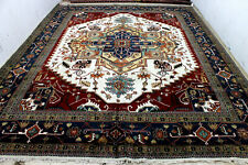 12X15 Magnificent Mint New Hand Knotted Palace Herizz Super Serapii Oriental Rug