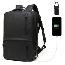 """Large Capacity Travel School Bags 17.3"""" Laptop Backpack with USB Port Rucksacks"""