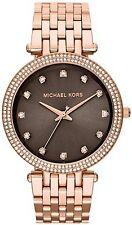 NEW MICHAEL KORS MK3217 LADIES ROSE GOLD DARCI WATCH - 2 YEAR WARRANTY