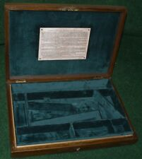 ANTIQUE CASE FOR COLT 1849/62 POCKET PERCUSSION REVOLVER GUN (5.5 in Barrel).