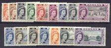 Bahamas #158-73 Mint - 1954 Qe Ii Pictorial Set ($95)