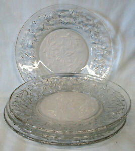 Princess House Fantasia Salad Plate, Set of 4