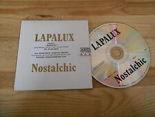 CD Indie lapalux-nostalchic (12 chanson) promo Brainfeeder CB