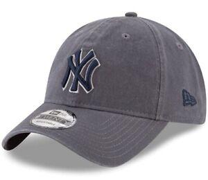 New YORK YANKEES MLB New Era 9TWENTY CORE CLASSIC Adjustable Baseball Hat NWT