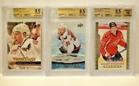 Evgeny Kuznetsov RC Lot Auto Ice Young Guns ALL 3 BGS 9.5 w/ 10s >WE TAKE OFFERS