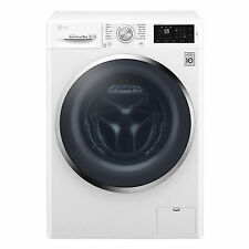 LG F4J6TN2W NFC 8 Kg 1400 Spin Washing Machine-White