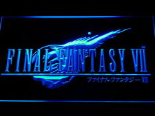 Final Fantasy VII FF7LED Neon Sign Man Cave E029-B