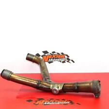 2006 Honda Crf250r Exhaust Mid Pipe Joint Chamber Header