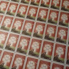 FEUILLE SHEET TIMBRE APPEL DU GÉNÉRAL DE GAULLE N°1264 x50 1960 NEUF ** LUXE MNH