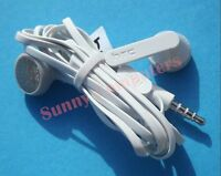 HTC Original Stereo Earphone Headset With Mic for HTC OneX T6 M9 M8 Black White