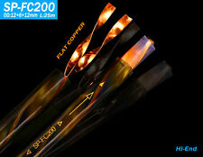 New YARBO 3.2Ft 1M SP-FC200 Flat OFC Copper Hi-End Surround Speaker Cable
