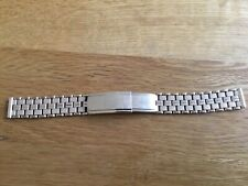 Montal rolled gold watch bracelet, 15mm