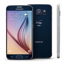 "5.1"" Samsung Galaxy S6 SM-G920V 32GB Débloqué Téléphone Mobile 16MP - Bleu Foncé"