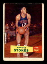 1957 Topps #42 Maurice Stokes RC VG X1918987