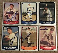 LOT OF (21) DIFFERENT SIGNED AUTOGRAPHED 1988 PACIFIC LEGENDS BASEBALL CARDS!