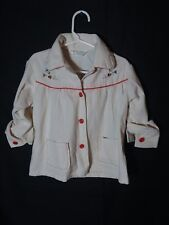 Vintage 80's Health-tex kids button up long sleeve shirt Size 5T