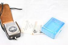 Leningrad-4 Light Meter with Original Leather Case and plastic box