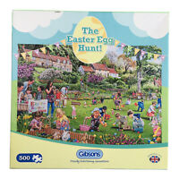 The Easter Egg Hunt Jigsaw Puzzle 500 Piece Chocolate Country Park Kids Gibsons