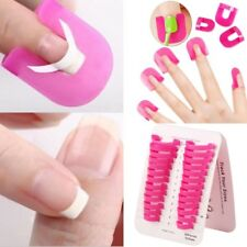 26pcs Nail Polish Glue Model Spill Proof Manicure Protector Tools+ 1 PC Sticker