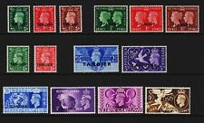Great Britain - Offices Tangier #515-524, #527-530 mint, cat. $ 47.50