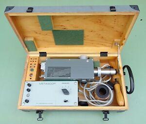 ZEISS Metascop Metall Spektroskop Emissions Analysegerät Prüfgerät Mikroskop