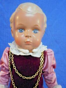 Vintage Schildkrot Celluloid 90s Klassik Collection Doll w Orig Box MIB DF41