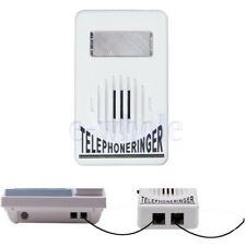 Telefon Klingel Verstärker Blitzlicht Türklingel Klingeltonverstärker Extra-Laut